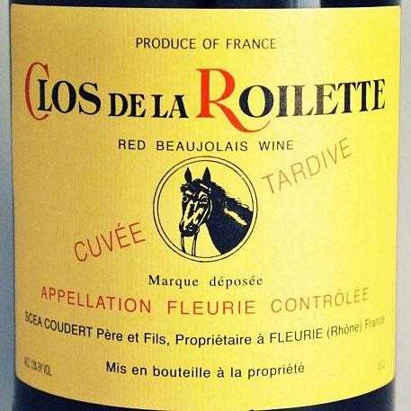 Wine Roilette Fleurie Cuvee Tardive 2015 1.5L
