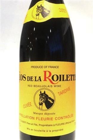 Wine Roilette Fleurie Cuvee Tardive 2015 3L OWC