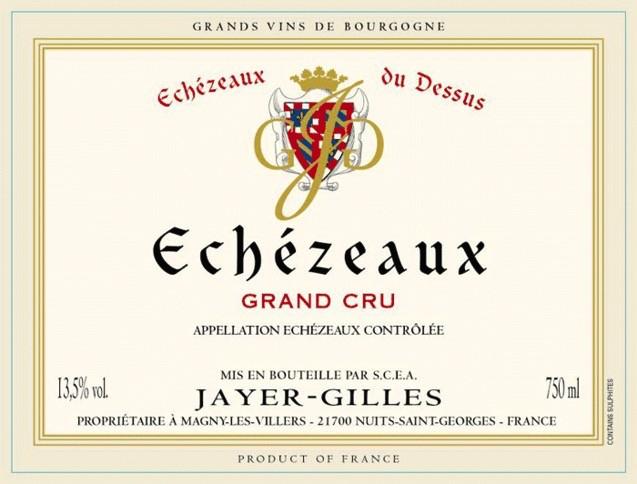 Wine Domaine Jayer Gilles Echezeaux Grand Cru 2012