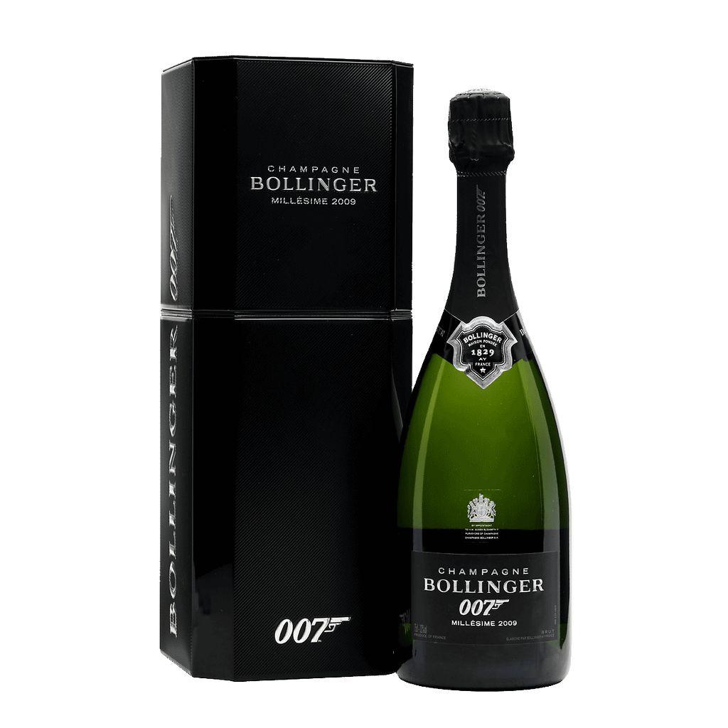 Sparkling Bollinger Champagne Grande Annee Limited Edition James Bond 007 2009
