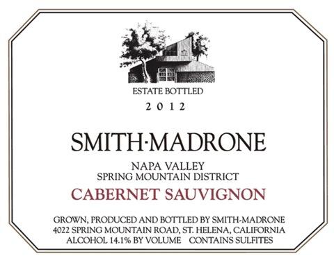 Wine Smith-Madrone Cabernet Sauvignon Napa Valley 2013