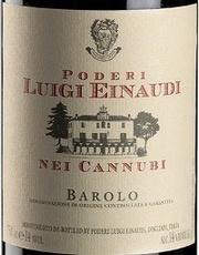 Wine Poderi Luigi Einaudi Barolo Nei Cannubi 2012