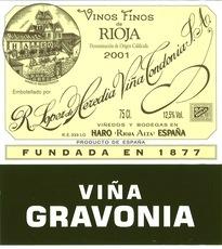 Wine Lopez de Heredia Rioja Gravonia Crianza White 2006