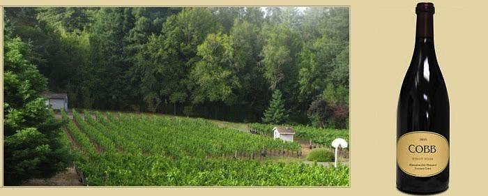 Wine Cobb Winery Sonoma Coast Pinot Noir Emmaline Ann Vineyard 2013