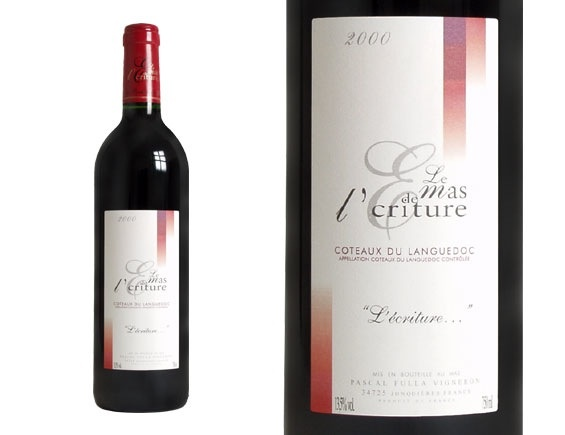 Wine MAS DE L'ECRITURE L'ECRITURE 2000 (OWC) 3L