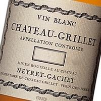 Wine Ch Grillet Neyret Gachet 1997