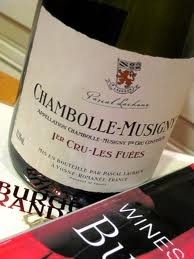 Wine Lachaux Chambolle Musigny 'Les Fuees' (OC) 2003