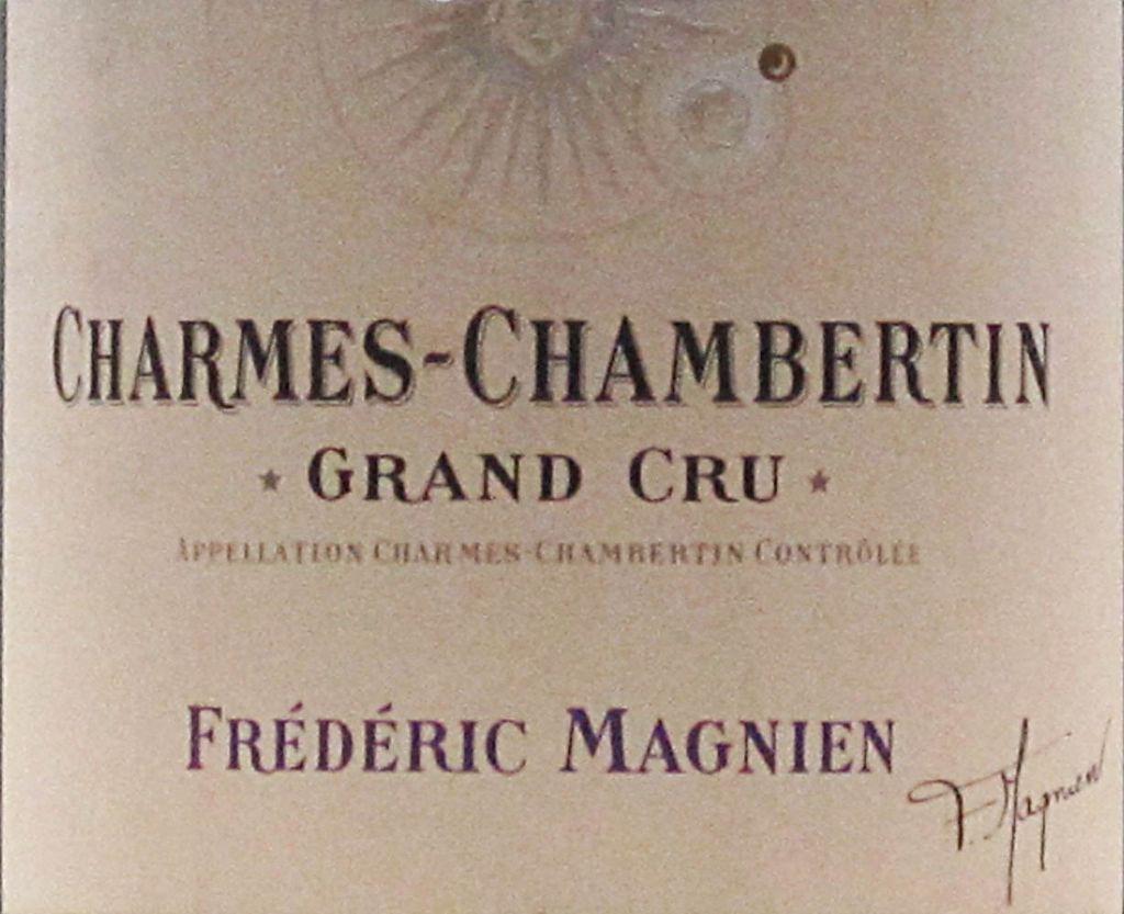Wine Frederic Magnien Charmes Chambertin Grand Cru 2009