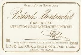Wine Louis Latour Batard Montrachet Grand Cru 1996 1.5L