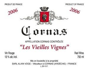 Wine VOGE CORNAS VEILLES VIGNES 2011