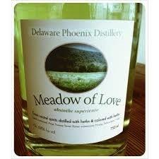 Spirits Delaware Phoenix DIstillery Meadow of Love Absinthe