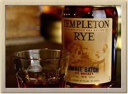 Spirits Templeton Rye 4 Year