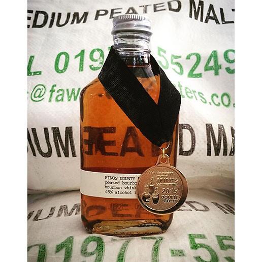 Spirits Kings County Distillery Peated Bourbon 200ml