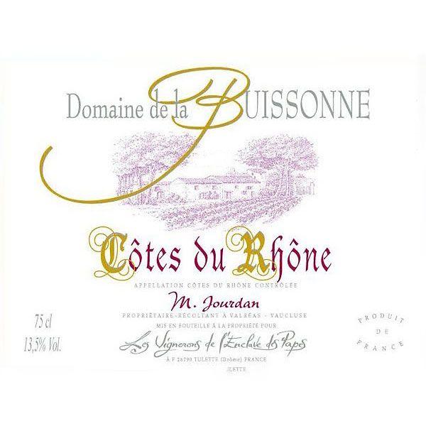 Wine Domaine La Buissonne Cotes du Rhone 2014