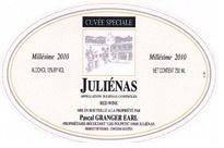 Wine Pascal Granger Julienas 'Cuvee Speciale' 2013