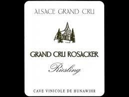 Wine Hunawihr Riesling Grand Cru Rosacker 2014