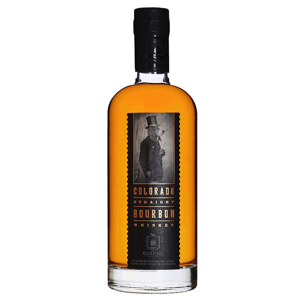 Spirits Peach Street Distillers Straight Bourbon Whiskey