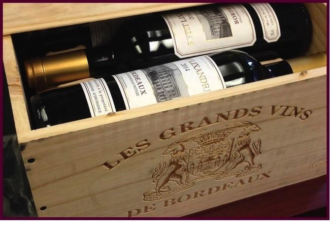 Wine Cave du Marmandais Petit Lixandre in wooden case 2014