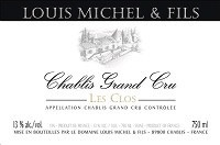 Wine Louis Michel Chablis Grand Cru Les Clos 2014