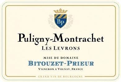 Wine Bitouzet-Prieur Puligny Montrachet 1er Cru 'Les Levrons' 2013
