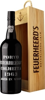 Wine Feuerheerd's Colheita Port 1963 owc