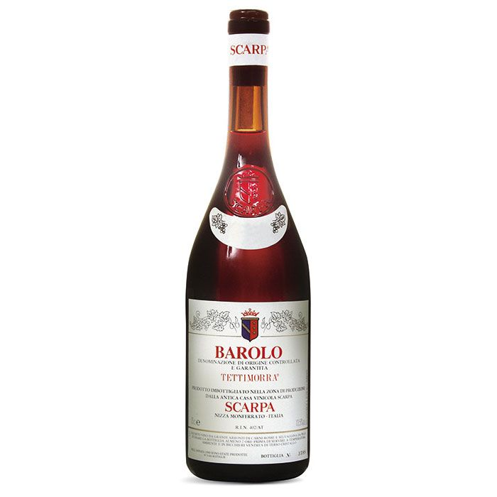 Wine Scarpa Barolo Tettimorra 2010