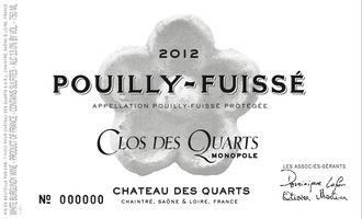 Wine Chateau des Quarts Pouilly Fuisse Clos des Quarts 2014