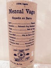 Spirits Mezcal Vago Espadin en Barro