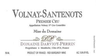 Wine Domaine Darviot-Perrin Volnay Santenots Premier Cru 2005