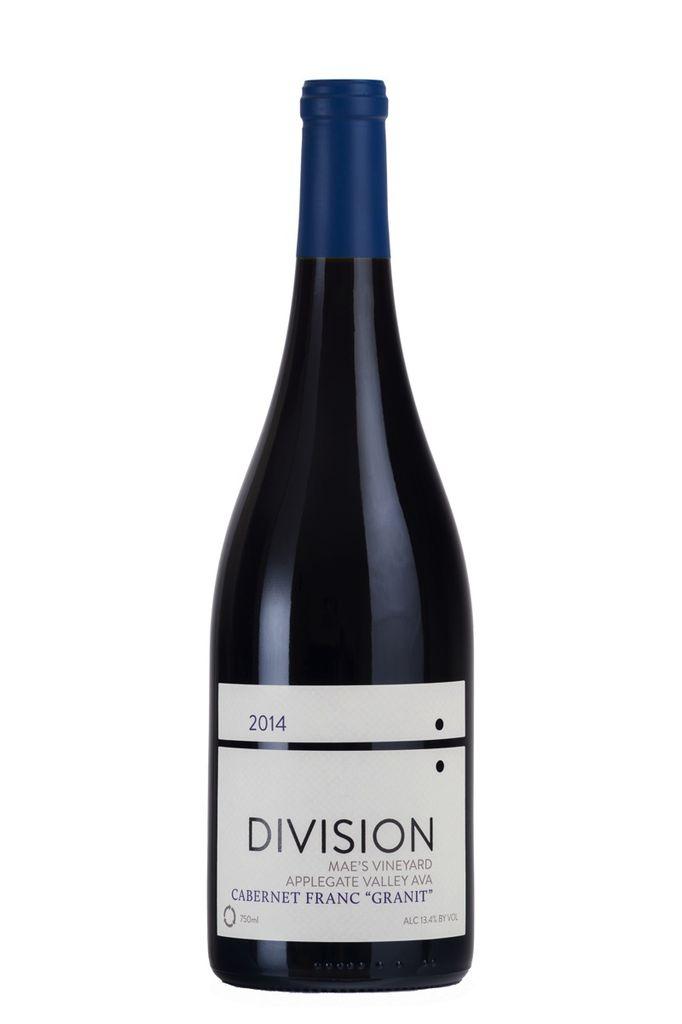 Wine Division Cabernet Franc Granit Mae's Vineyard 2014