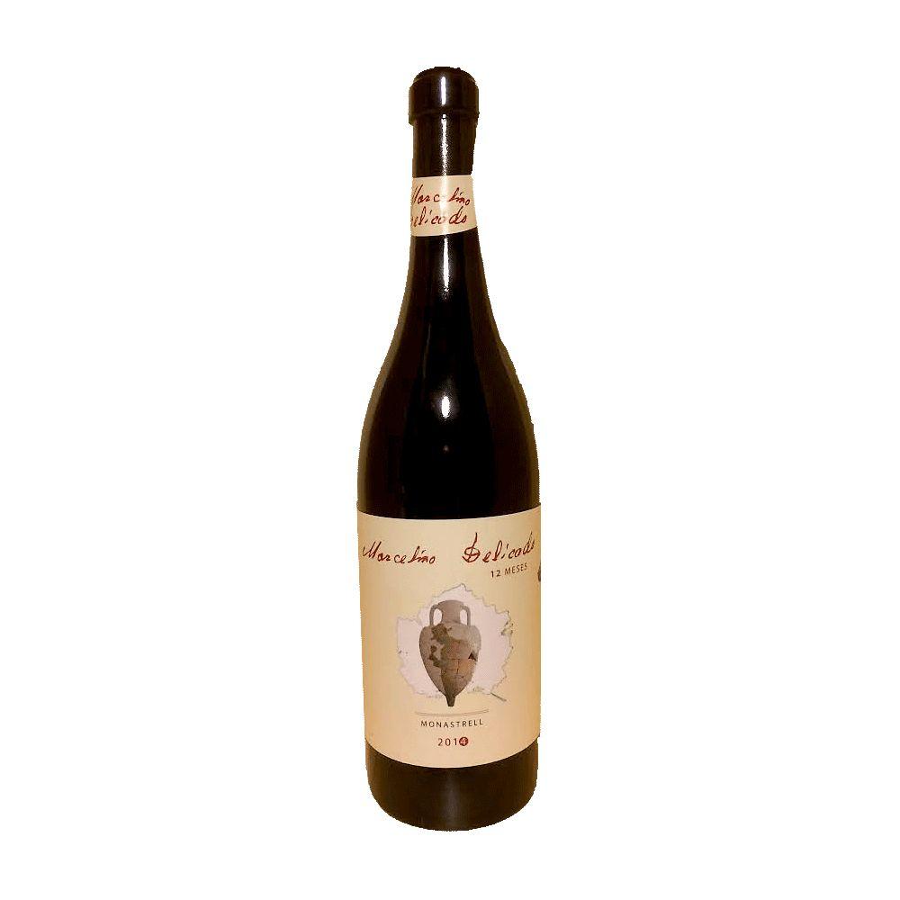 Wine Bodegas Madroño Jumilla Amphoras Monastrell 12 Months Marcelino Delicado 2014