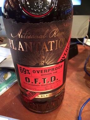 Spirits Plantation Artisinal Dark Rum Overproof OFTD 69% 1L