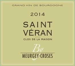 Wine Meurgey Croses Saint Veran Clos de la Maison 2014