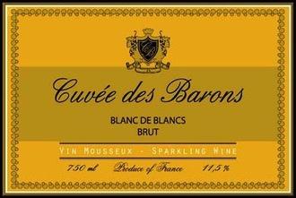 Sparkling Antonin Rodet Cuvée des Barons Blanc de Blancs Brut Sparkling