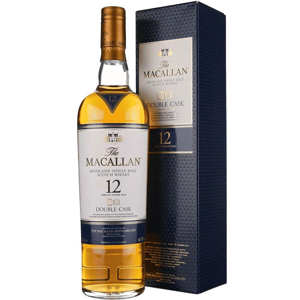 Spirits The Macallan Scotch Single Malt 12 Year Double Cask