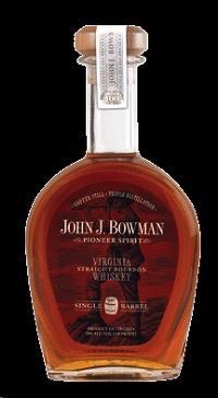 Spirits John J Bowman Bourbon Single Barrel 100°
