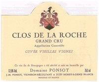 Wine Domaine Ponsot Clos de la Roche Grand Cru Cuvee Vieilles Vignes 2013