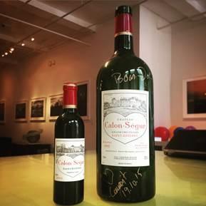 Wine Ch. Calon Segur 2001