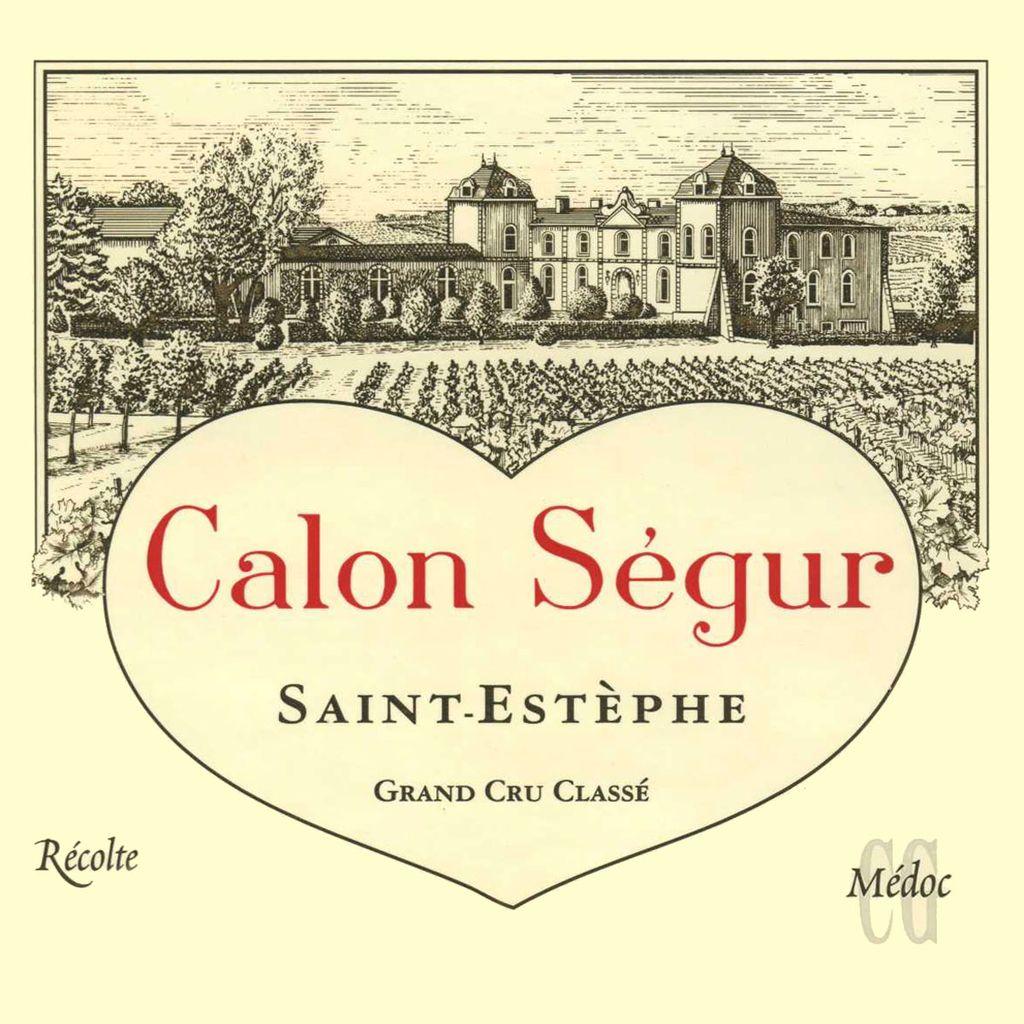 Wine Ch. Calon Segur 2000 3L