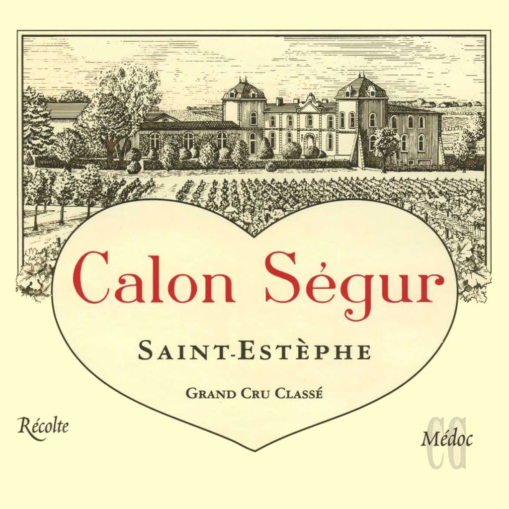 Wine Ch. Calon Segur 2004 375ml