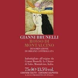 Wine Gianni Brunelli Rosso di Montalcino 2015