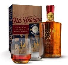 Spirits Richland Single Estate Old Georgia Agricole Rum Gift Set with Glasses
