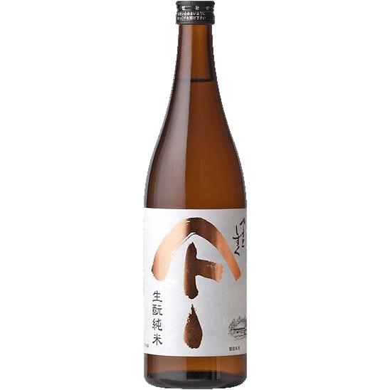 Sake Akita Seishu Shuzo Yamato Shizuku Kimoto Junmai Sake 720ml