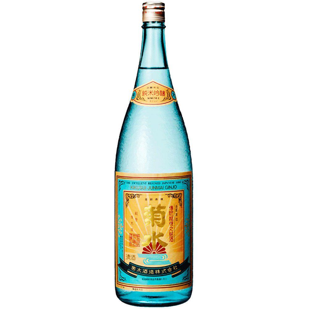 Sake Kikusui Shuzo Junmai Ginjo Sake Gift Box 720ml