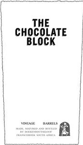 Wine The Chocolate Block Red 2015