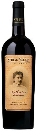 Wine Spring Valley Cabernet Franc Katherine Corkrum Walla Walla Valley 2011