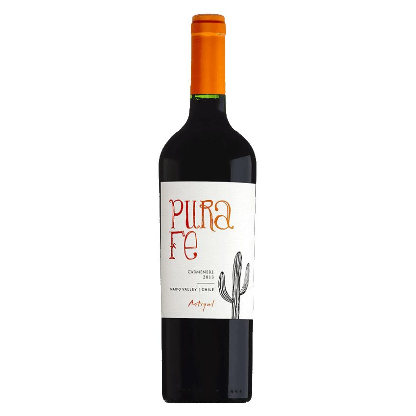 Wine Antiyal Maipo Valley Carmenere Pura Fe 2015
