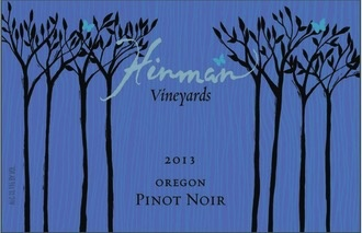 Wine Hinman Vineyards Willamette Valley Pinot Noir 2014