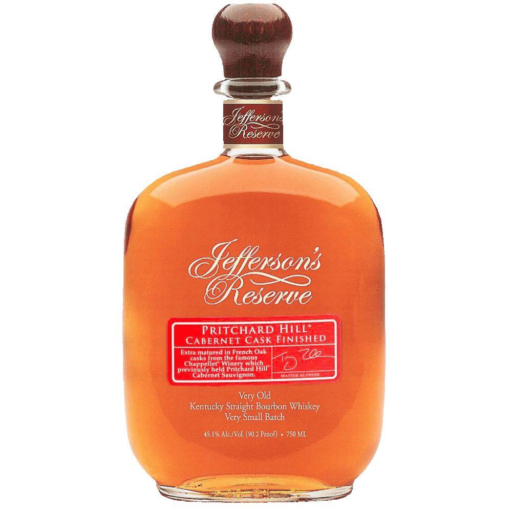Spirits Jefferson's Bourbon Reserve Pritchard Hill Cabernet Cask Finished