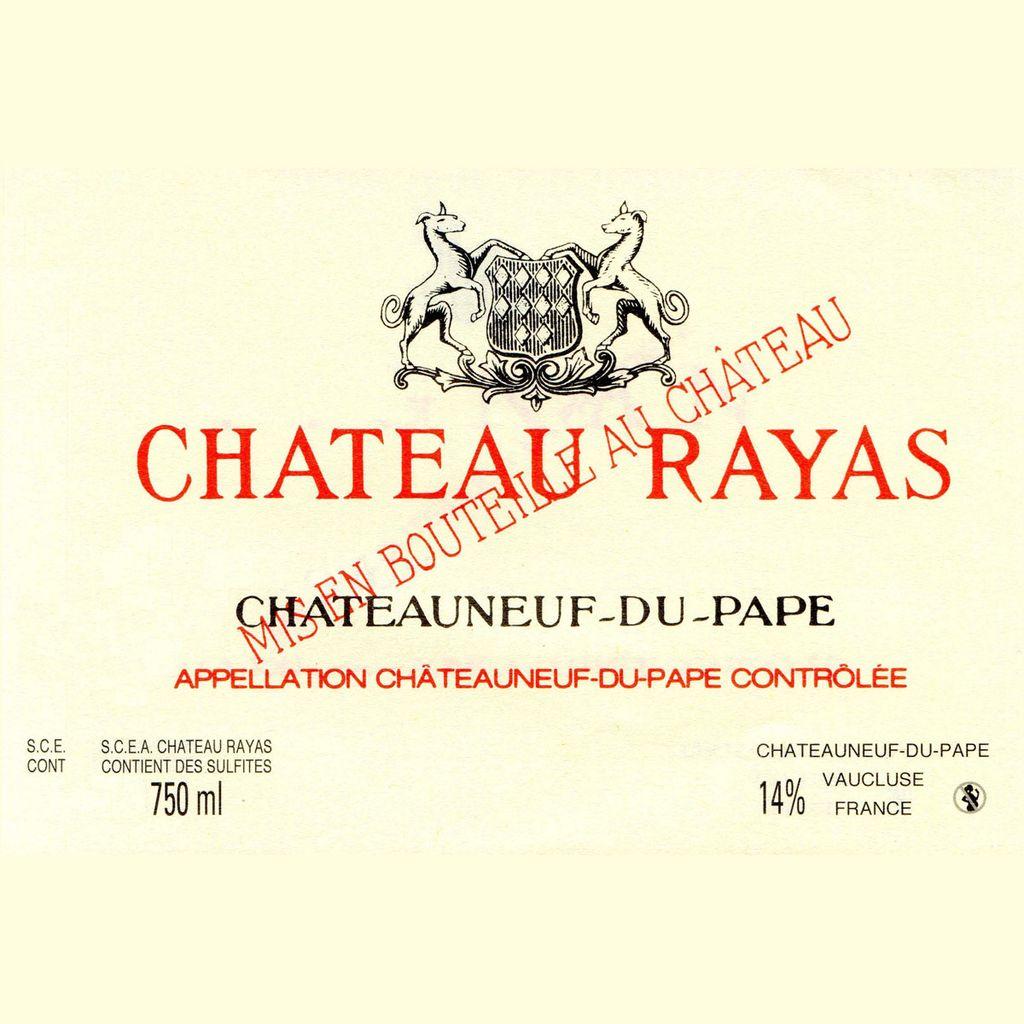 Wine Chateau Rayas Chateauneuf du Pape Rouge 2006